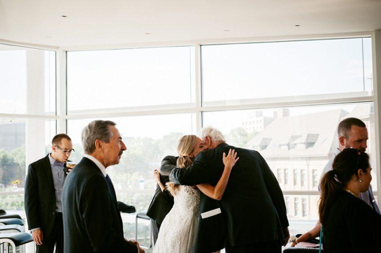 BHLDN Wedding Dress, Meuseum Wedding, MMoA Wedding Madison Wisconsin, Madison Wisconsin Wedding Photographer, daffodill parker Flowers