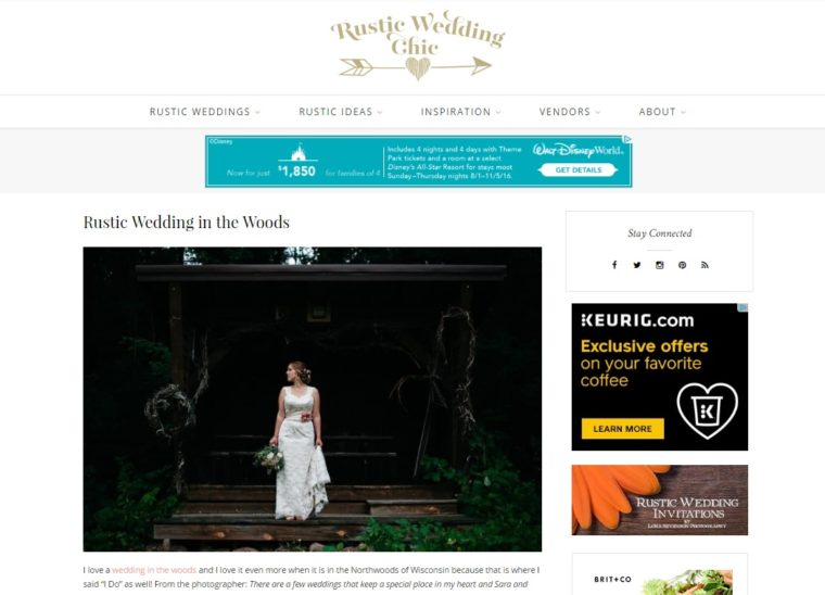 Madison Wisconsin Wedding Photographer, Outdoor Wedding, Wedding in the Woods - Natural Intuition Photography
