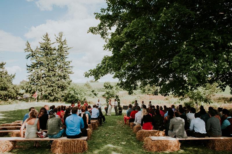 Madison Backyard Wedding - Elevate Events - Farm Wedding New Glarus Wisconsin