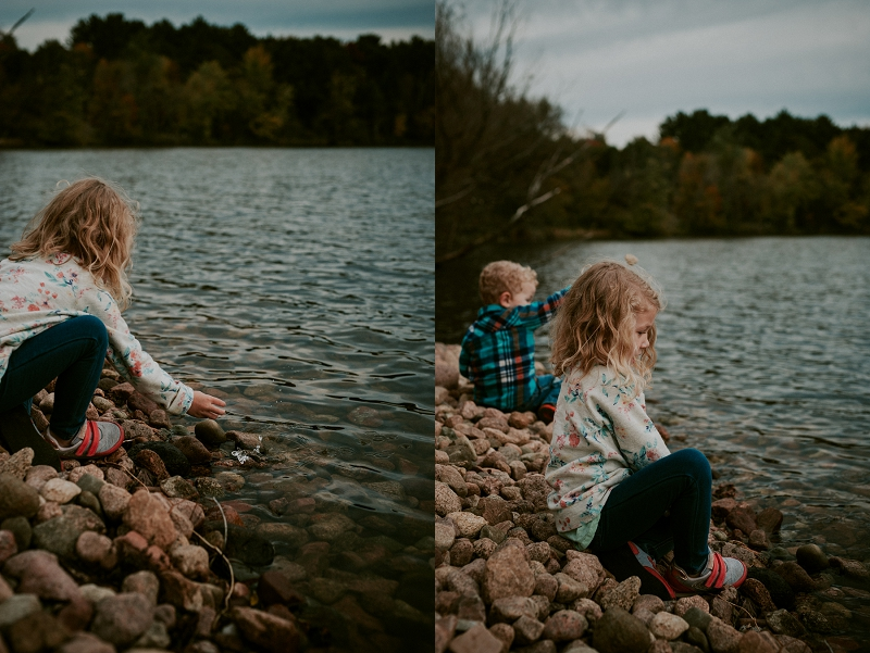 Madison Wisconsin Wedding Photographer, Iola Wisconsin Wedding Photographer, Fall Park Family Session, Lifestyle Family Photography