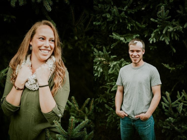 Doctors Park Milwaukee WI Fall Engagement Session