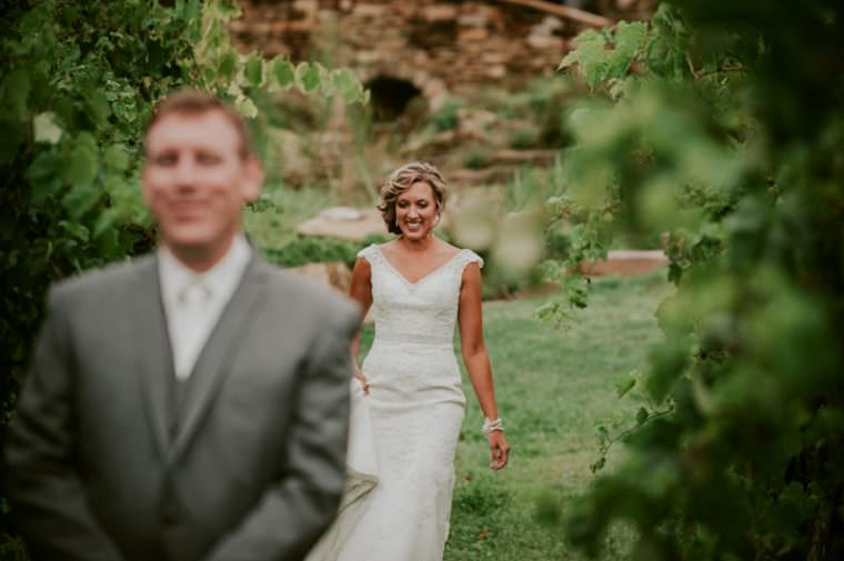 Top 5 Reasons to do A first look at your wedding, Winery Wedding