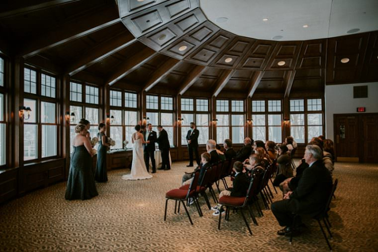 Indoor Wedding in Unique Wisconsin Venue - Appleton Wisconsin, Madison Wisconsin Wedding Photographer