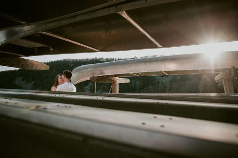 Lake Engagement, Canoes, Devil's Lake Engagement Session, Baraboo Wisconsin Photographer, Madison WI Wedding Photographer