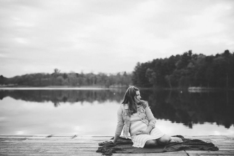 Maternity Session on the Beach, Waupaca Wisconsin Family Photographer, Maternity Session with Dogs
