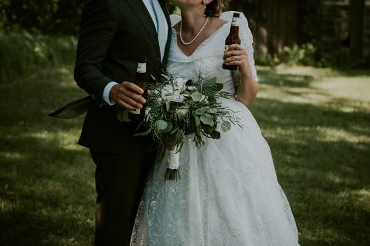 Bride and Groom Photos, Wisconsin Barn Wedding, Backyard Wedding, Wild Rose Wisconsin