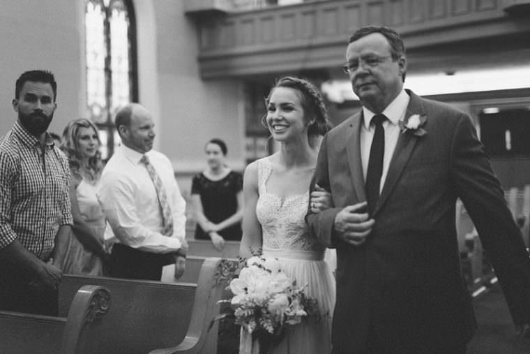 Father Daughter Wedding Photos, Church Wedding, Wisconsin Wedding, Summer Wedding, Madison WI Wedding Photographer