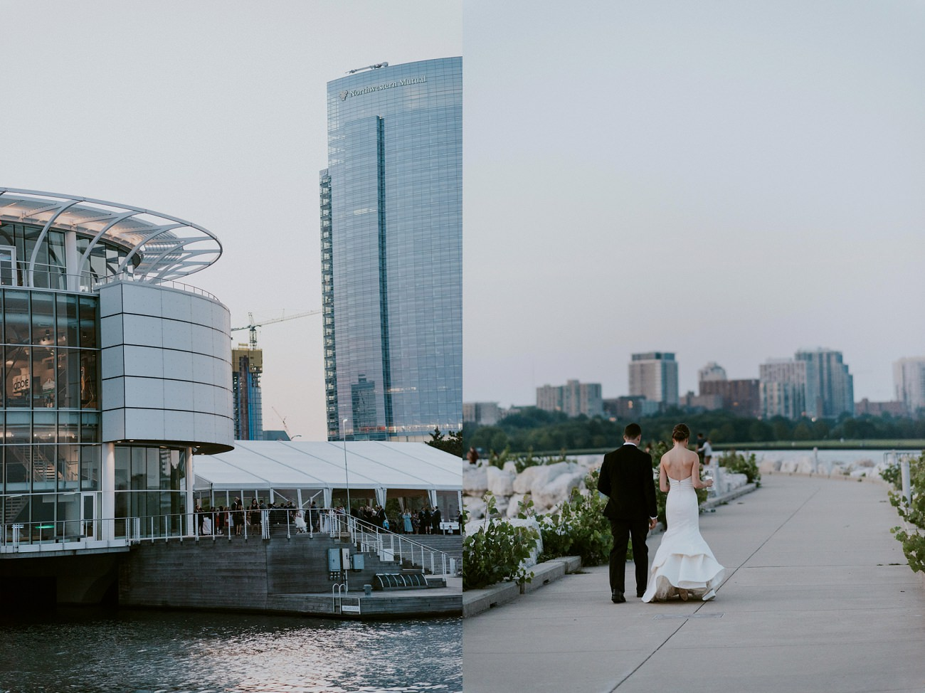 Discovery World Milwaukee Wisconsin Wedding, Elegant Black Tie Wedding Milwaukee Wisconsin - Natural Intuition Photography Milwaukee Wedding Photographer