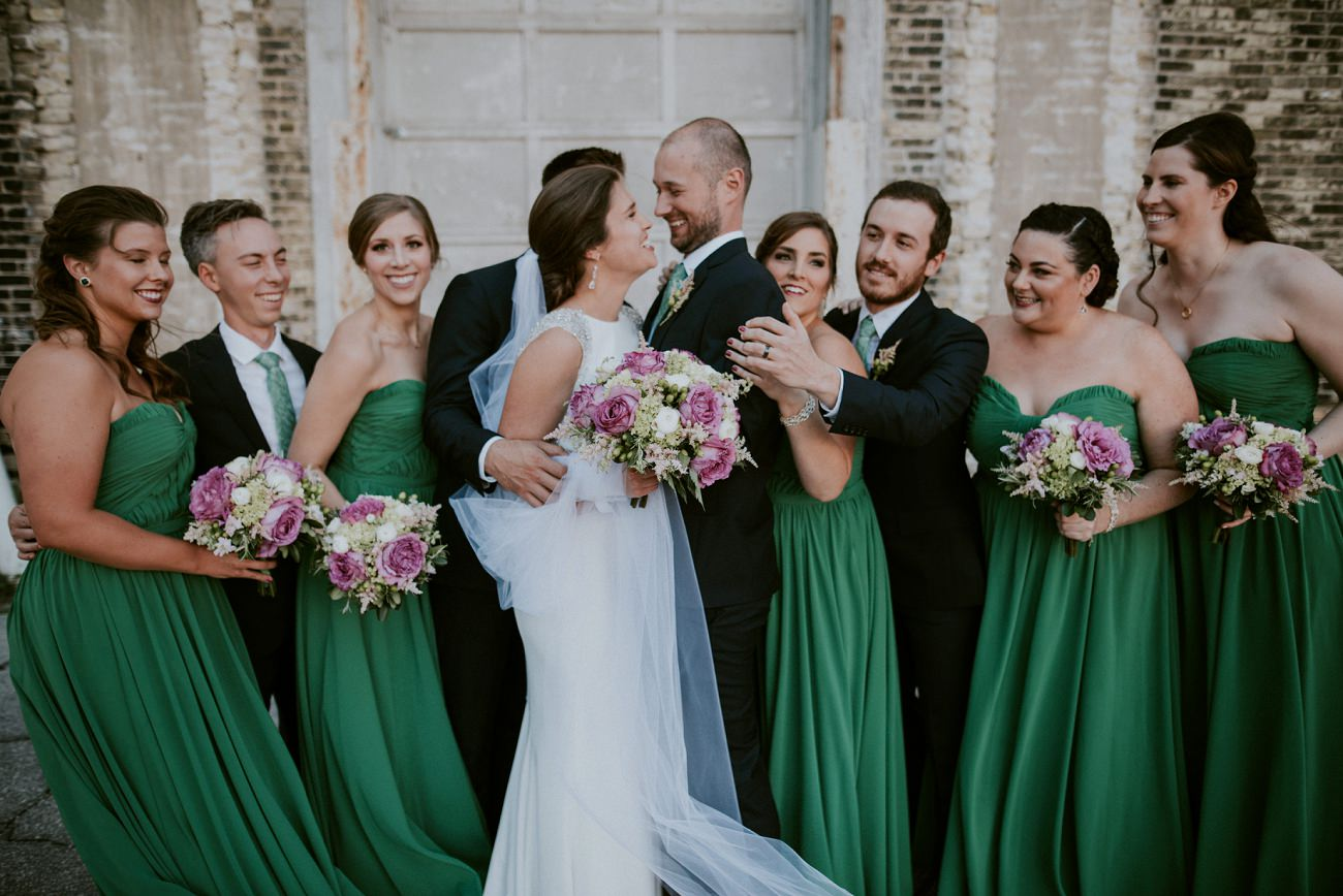 Mood City Wedding in Milwaukee Wisconsin - Natural Intuition Photography