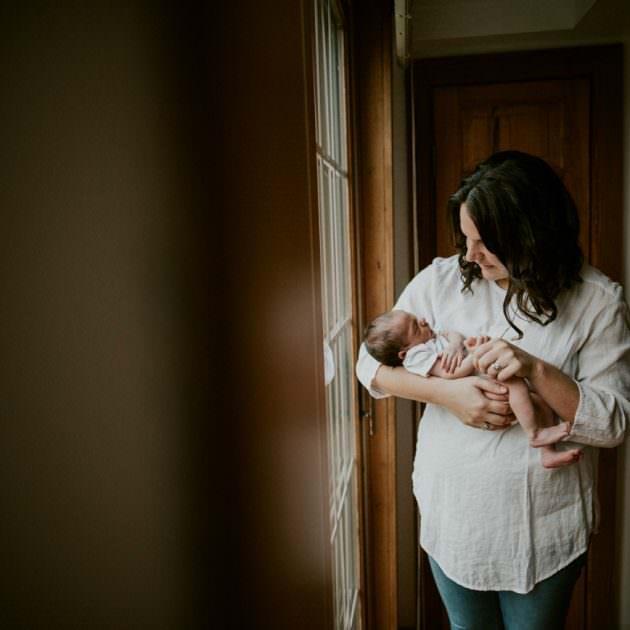 In Home Newborn Session - Madison WI