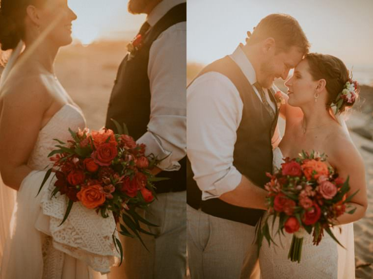 beach wedding - natural intuition photography - madison wi photographer