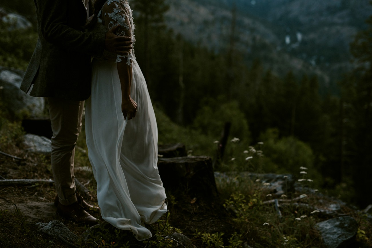 Leavenworth Washington Mountaintop Elopement - Cascade Workshop - Natural Intuition Photography