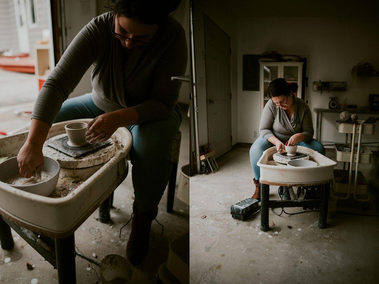 Ceramics in Madison WI - Branding Photography Madison WI