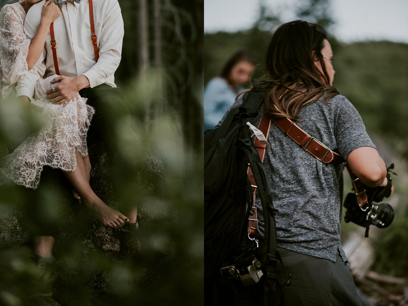 Moody Elopement - Mountain Elopement in Leavenworth Washington - Seattle Washington Photographer