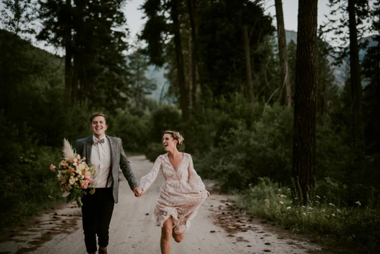 Moody Elopement - Mountain Elopement in Leavenworth Washington - Seattle Washington Photographer