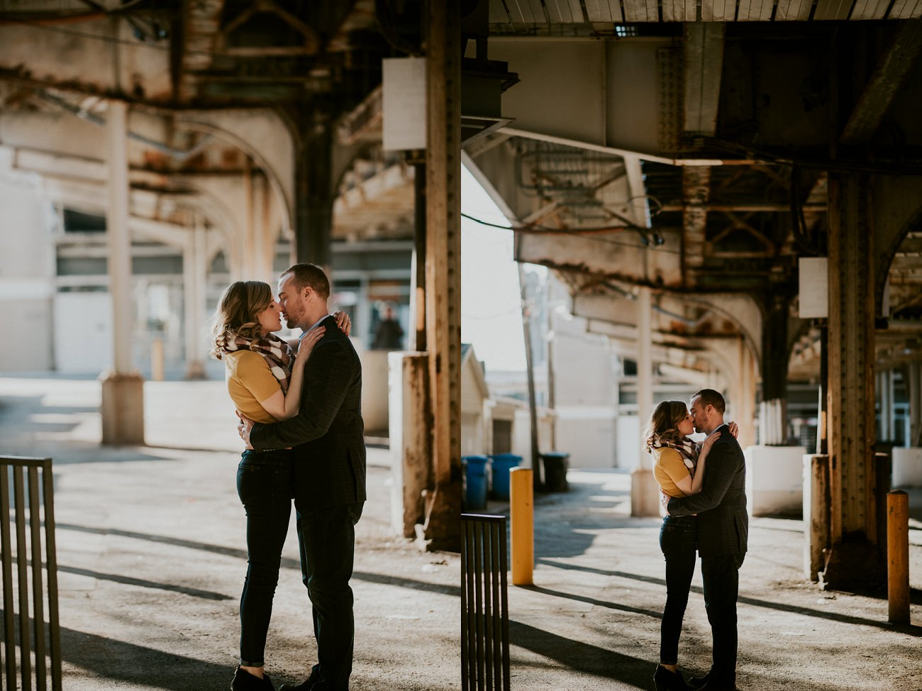 Downtown Chicago Engagement Session - Chicago Engagement - Chicago Wedding Photographer