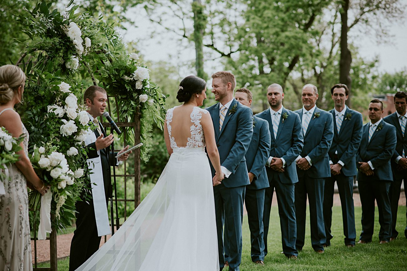 Backyard wedding, Milwaukee Wisconsin Wedding Photographer - Natural Intuition Photography