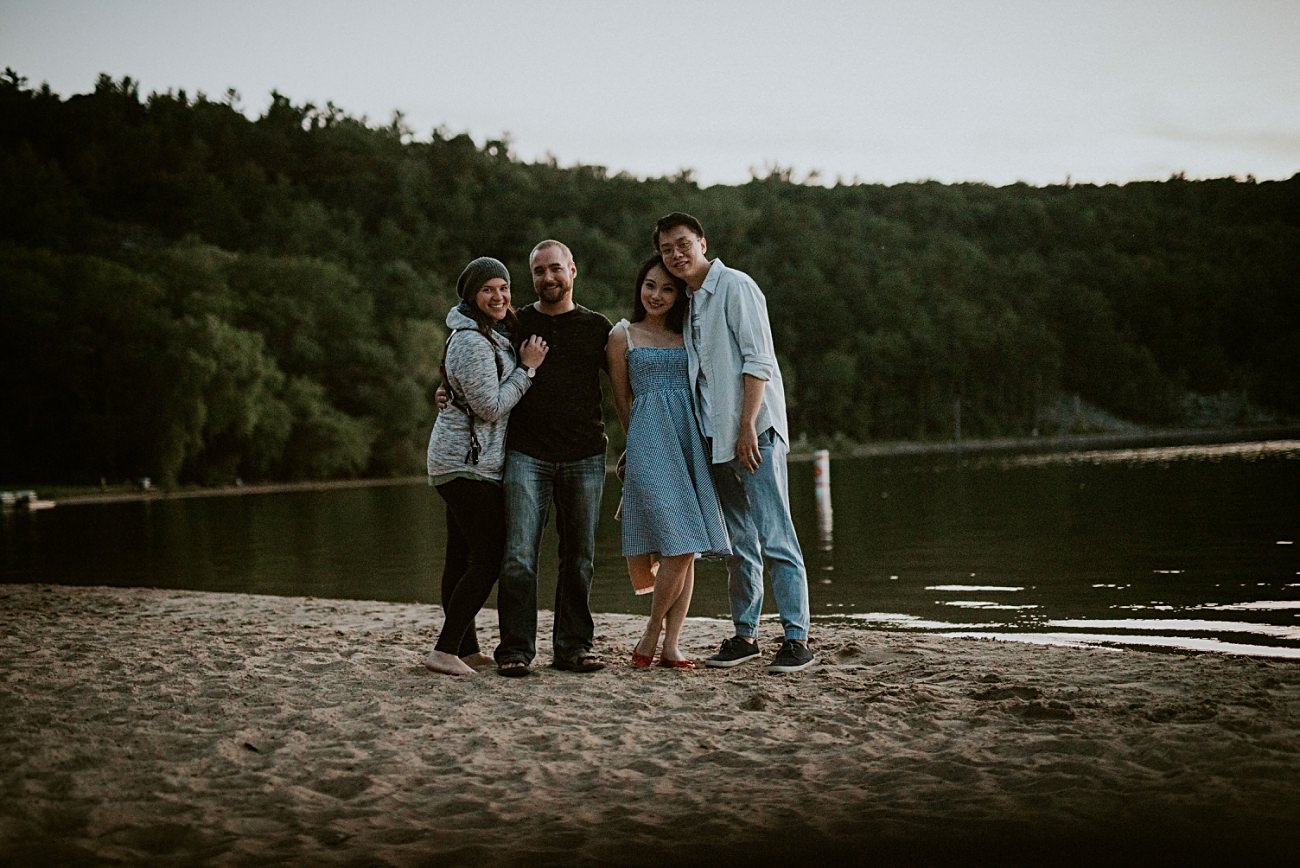 Lakeside Engagement Session - Lake Session - Devils Lake State Park - Madison WI Photographer