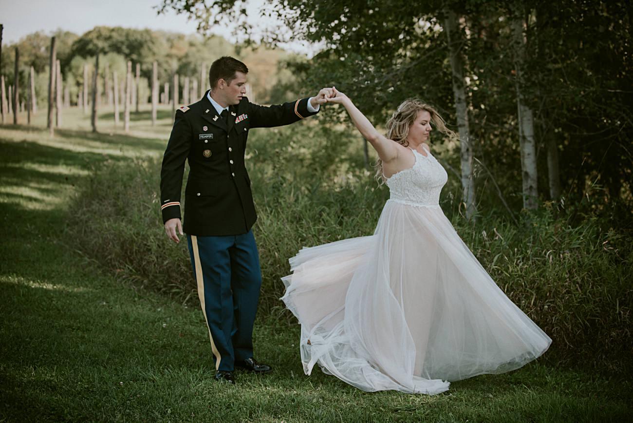 Wedding Party Photos - Door County Wedding
