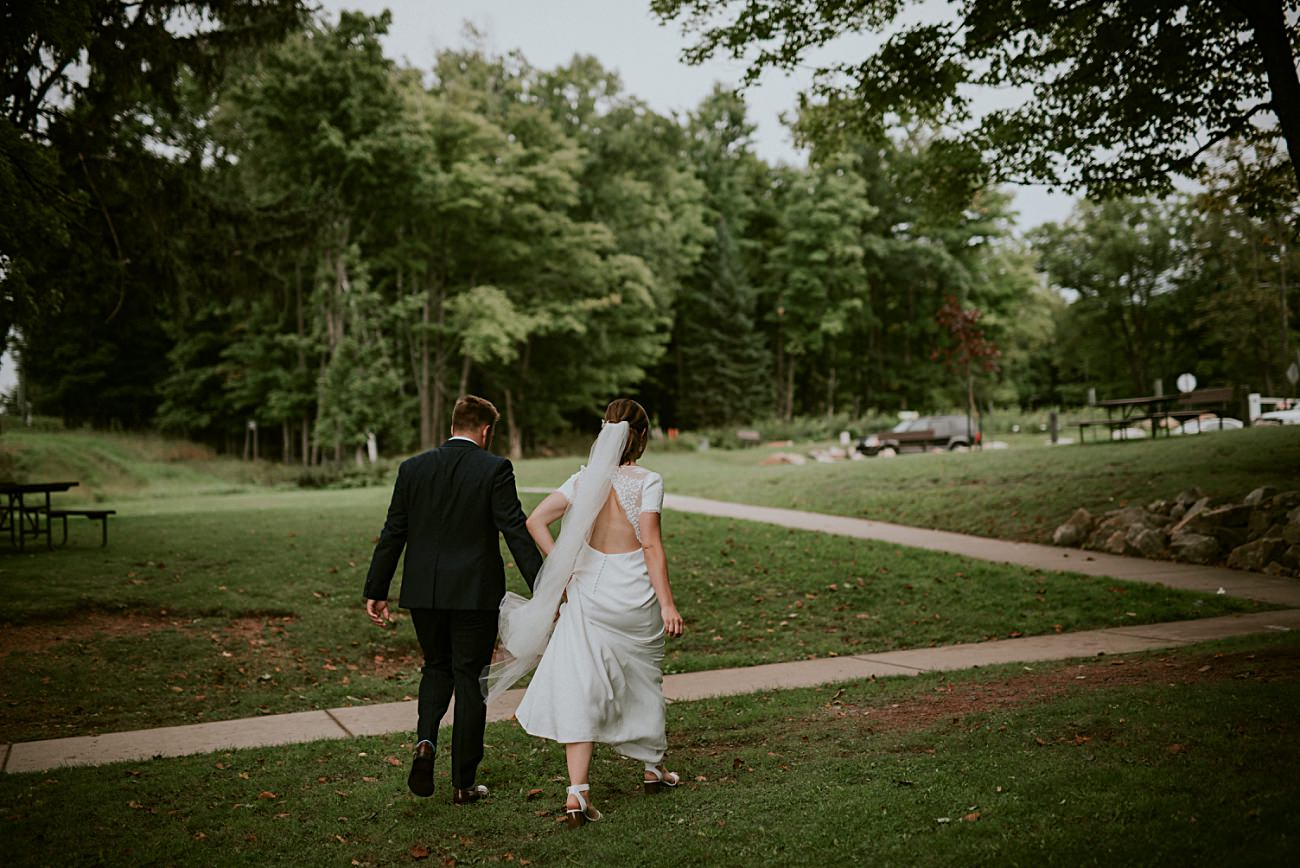 Rib Mountain Wedding in Wausau Wisconsin - Mountaintop Wedding, Wisconsin Wedding - Natural Intuition Photography