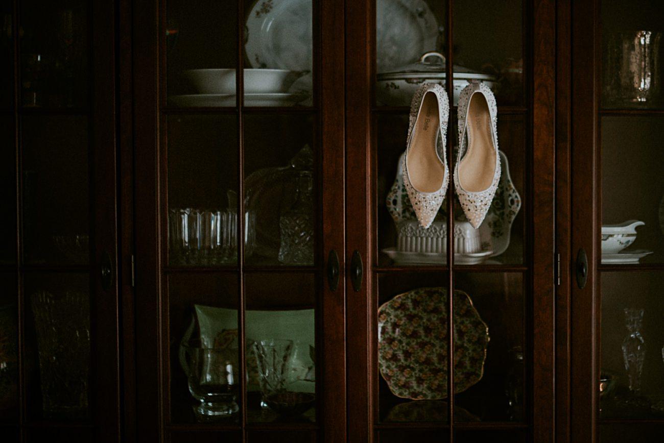 Bridal Shoes, Heidel House Wedding - Green Lake Wisconsin Wedding