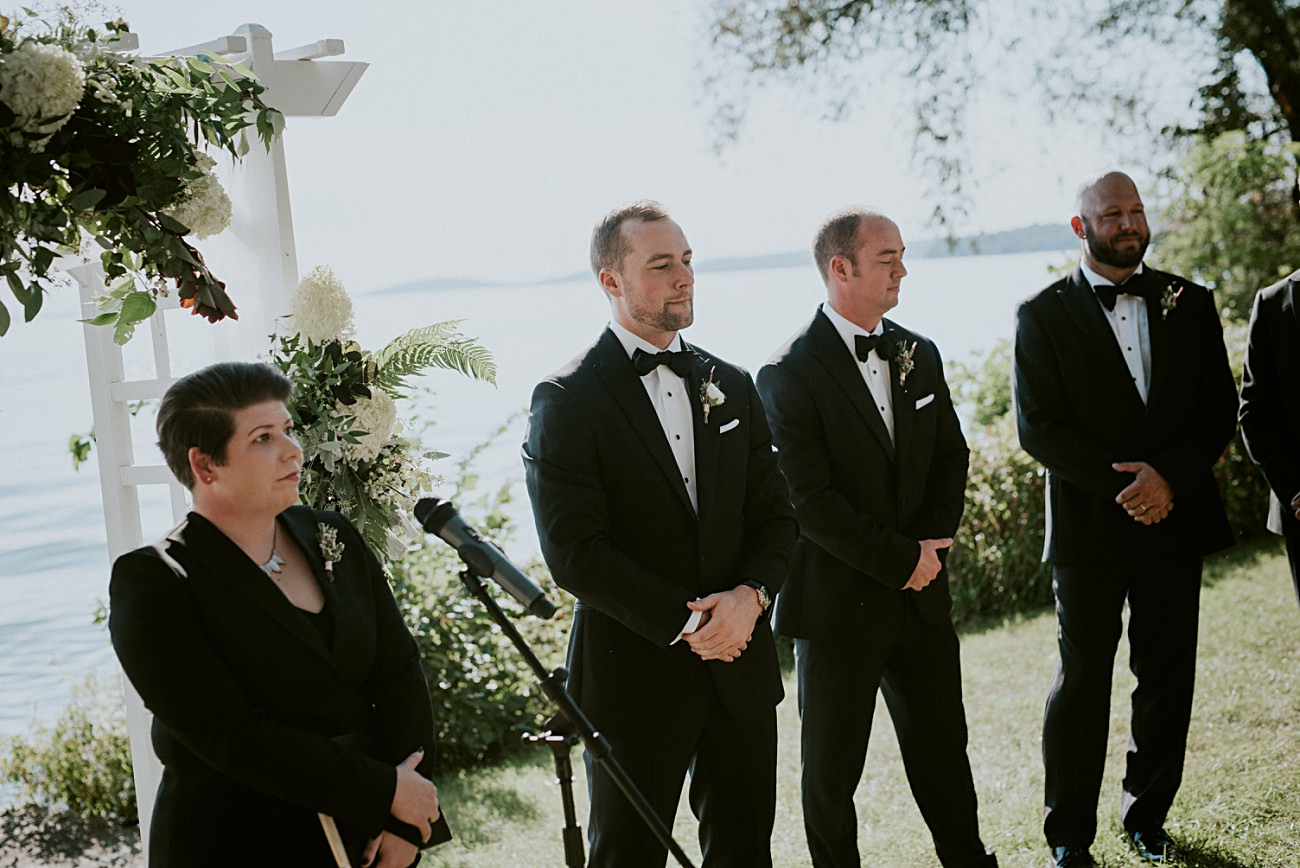 Lakeside wedding in Green Lake Wisconsin -Heidel House Wedding - Green Lake Wisconsin Wedding