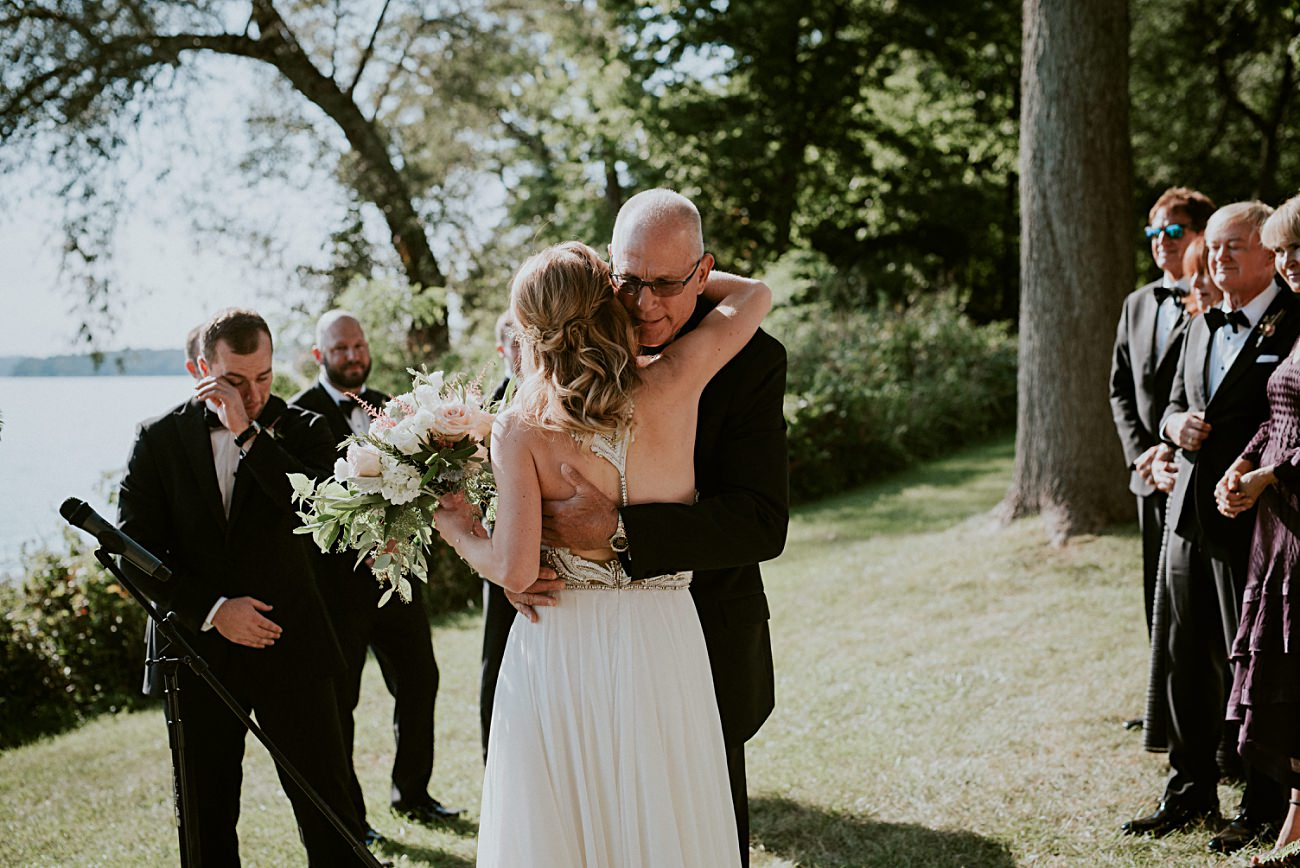 Lakeside wedding in Green Lake Wisconsin -Heidel House Wedding - Green Lake Wisconsin Wedding