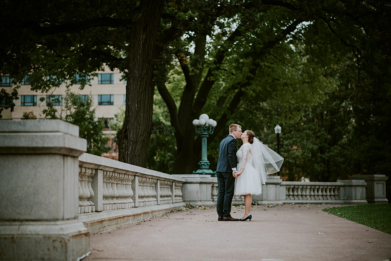 Bride and groom photos at capital, Small Church Wedding, Intimate Wedding In Madison Wisconsin, Madison WI Photographer