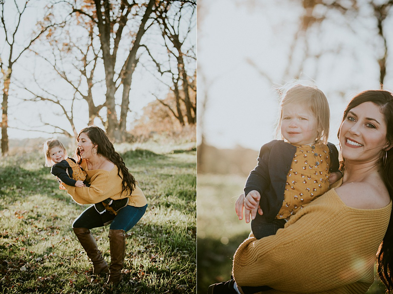Fall Family Photography in Madison Wisconsin - Natural Intuition Photography