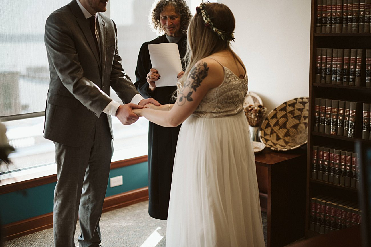 Madison Wisconsin Courthouse Elopement Wedding, Madison Wisconsin Wedding Photographer, Courthouse wedding