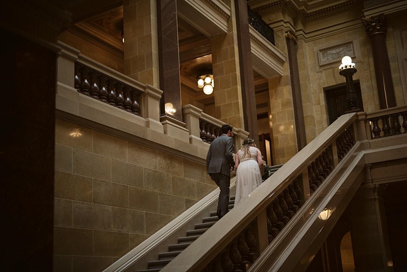 Madison Capital Wedding, Madison Wisconsin Courthouse Elopement Wedding, Madison Wisconsin Wedding Photographer, Courthouse wedding, Wisconsin Elopement Photographer