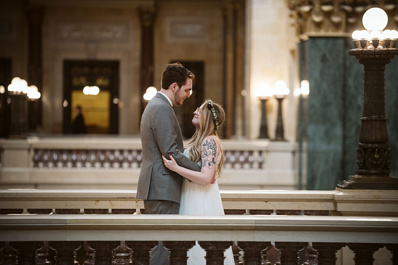 Madison Capital Wedding, Madison Wisconsin Courthouse Elopement Wedding, Madison Wisconsin Wedding Photographer, Courthouse wedding, Wisconsin Elopement Photographer