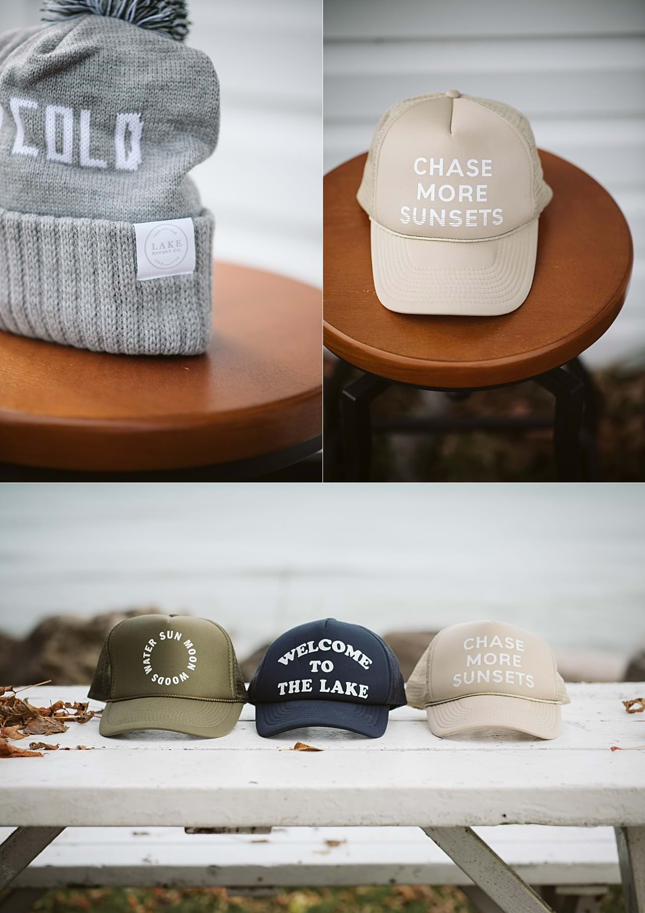 Product Photography, Trucker Hats