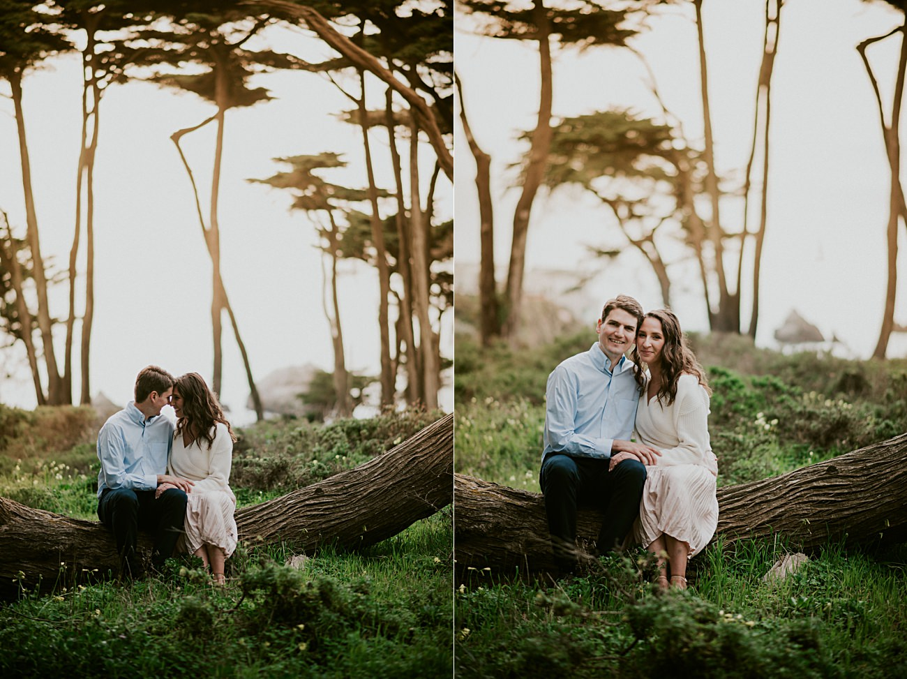 California Engagement Session, What to wear to engagement Session, Woodsy Engagement, California Engagement