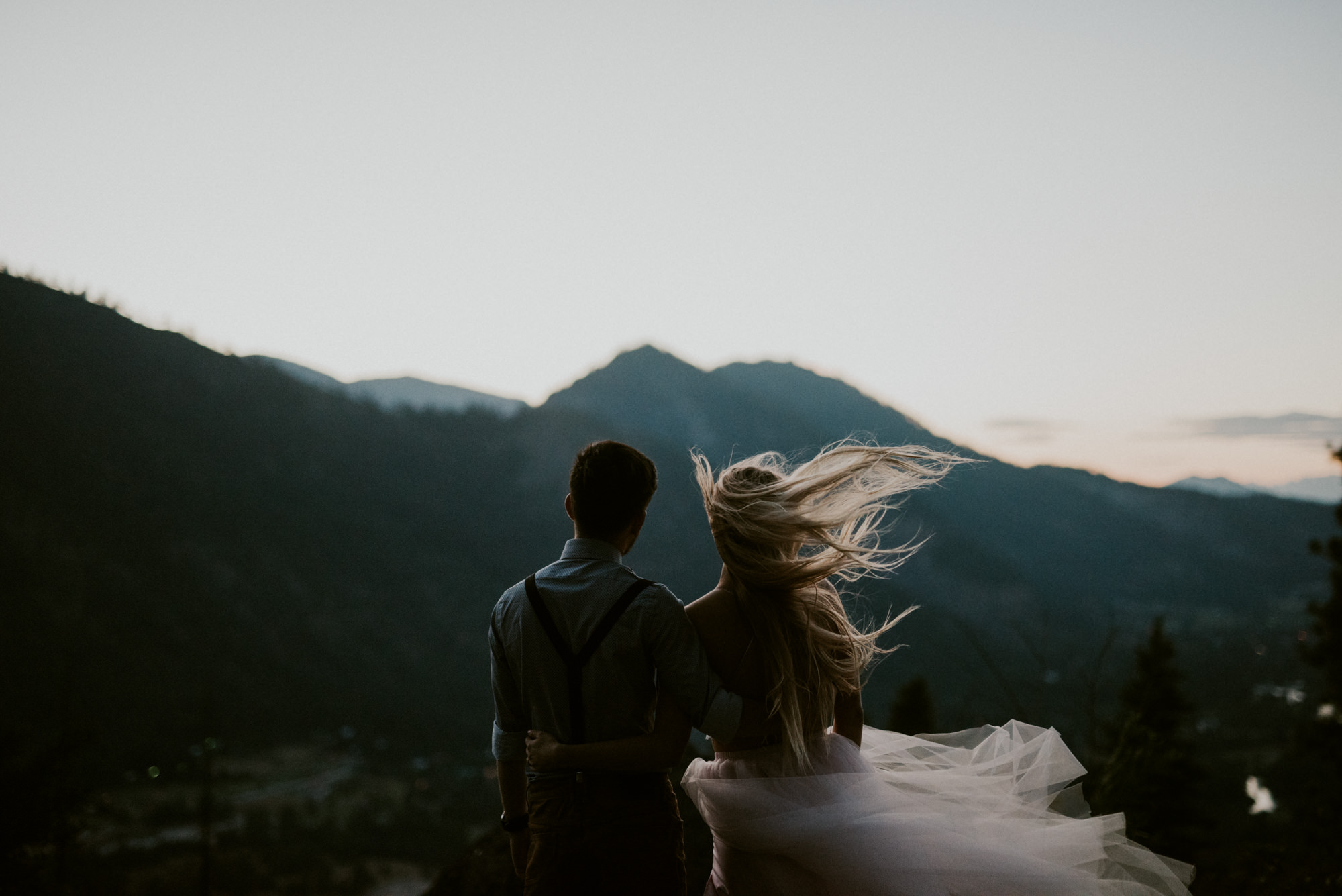 Washington Mountain Elopement, Madison Wisconsin Elopement Photographer, Mountain Wedding, Leavenworth Washington