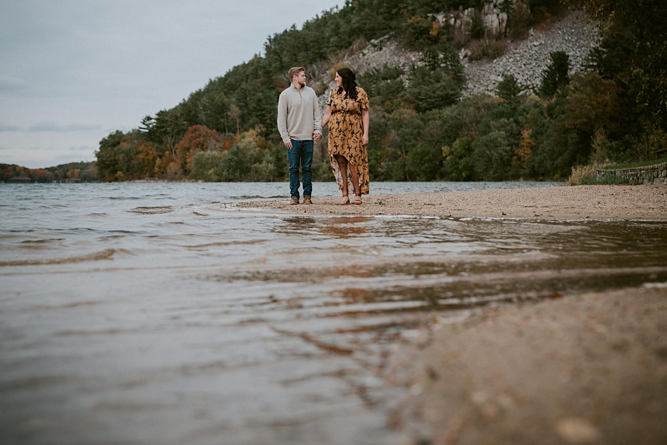 Lake Engagement, Madison Wisconsin Wedding Photographer, Natural Intuition Photography,