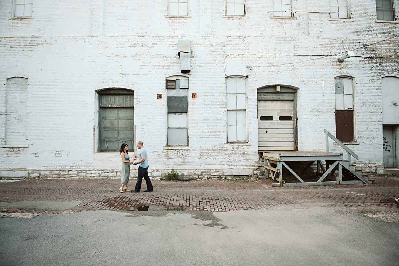 Milwaukee Engagement Session, Third Ward Photography, Purple Door, Anniversary Session, Milwaukee Family Photographer