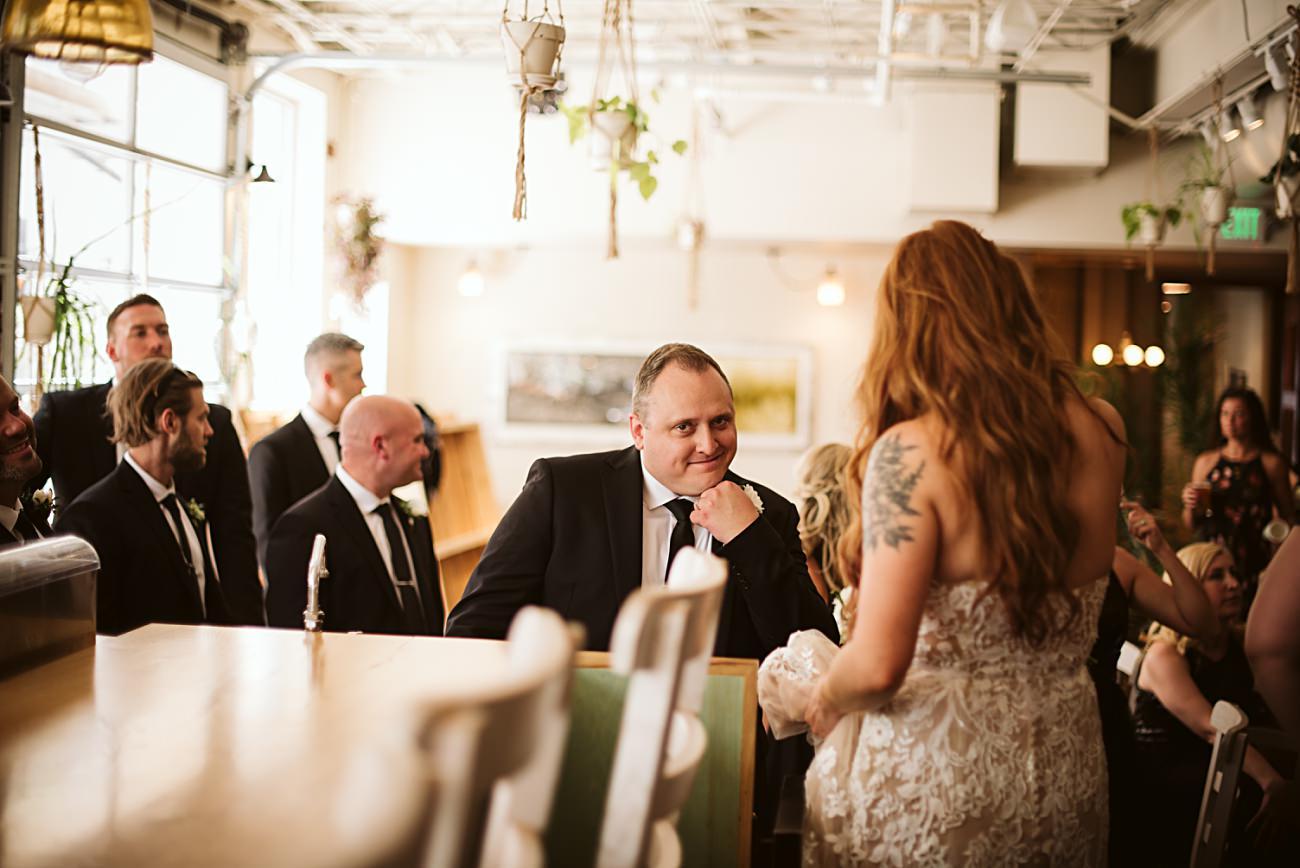 Rad and Unique wedding party photos, Madison Wisconsin Wedding