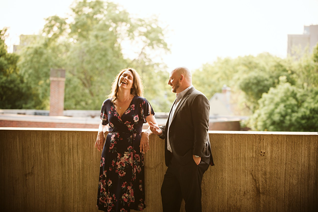 Parking Garage Engagement, Madison State Capital Building Engagement Session, Madison Wisconsin Wedding Photographer, Summer Engagement, Natural Intuition Photography