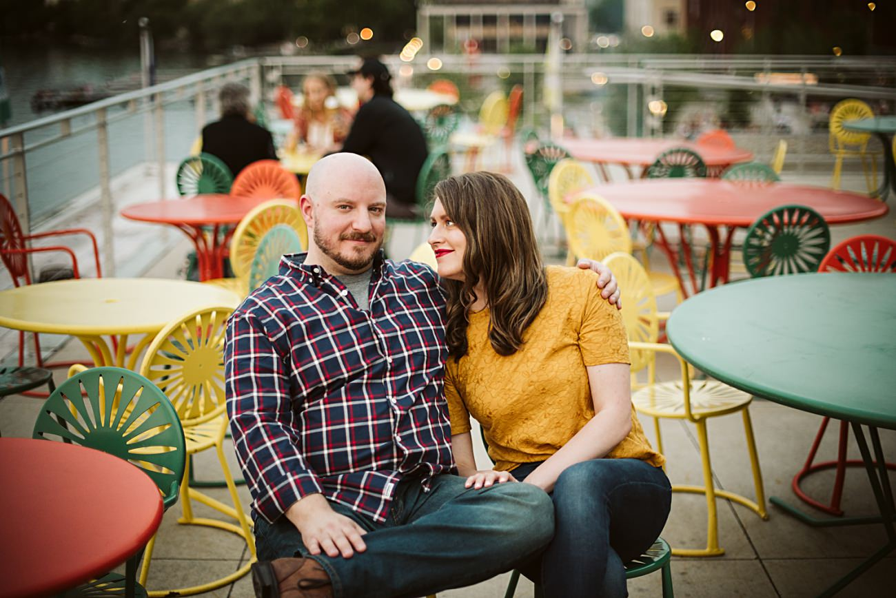 Memorial Union Terrace Engagement, Parking Garage Engagement, Madison State Capital Building Engagement Session, Madison Wisconsin Wedding Photographer, Summer Engagement, Natural Intuition Photography