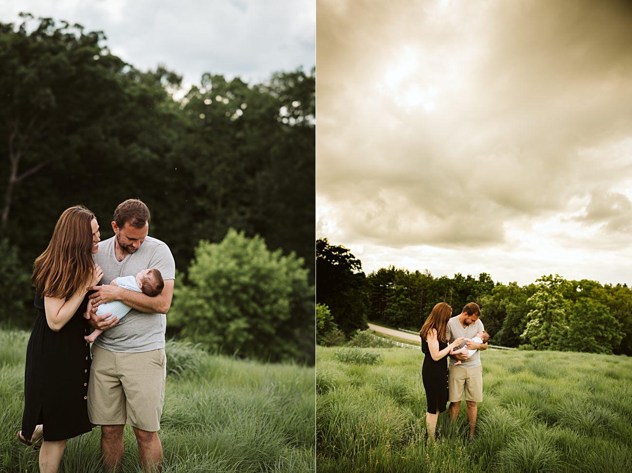 Madison Wisconsin Newborn Photographer, Madison WI  Family Photographer, Summer Family