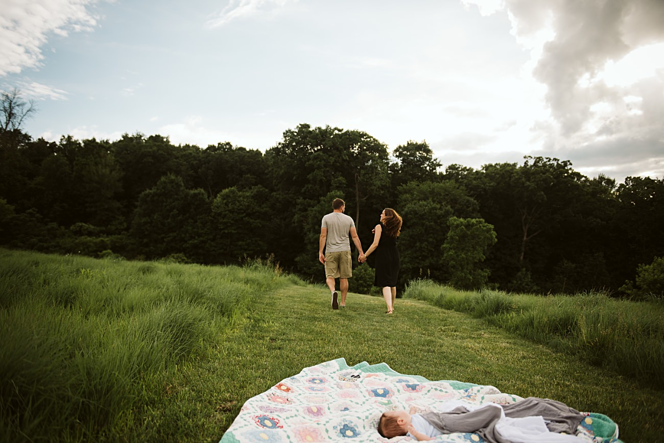 Madison Wisconsin Newborn Photographer, Madison WI  Family Photographer, Summer Family