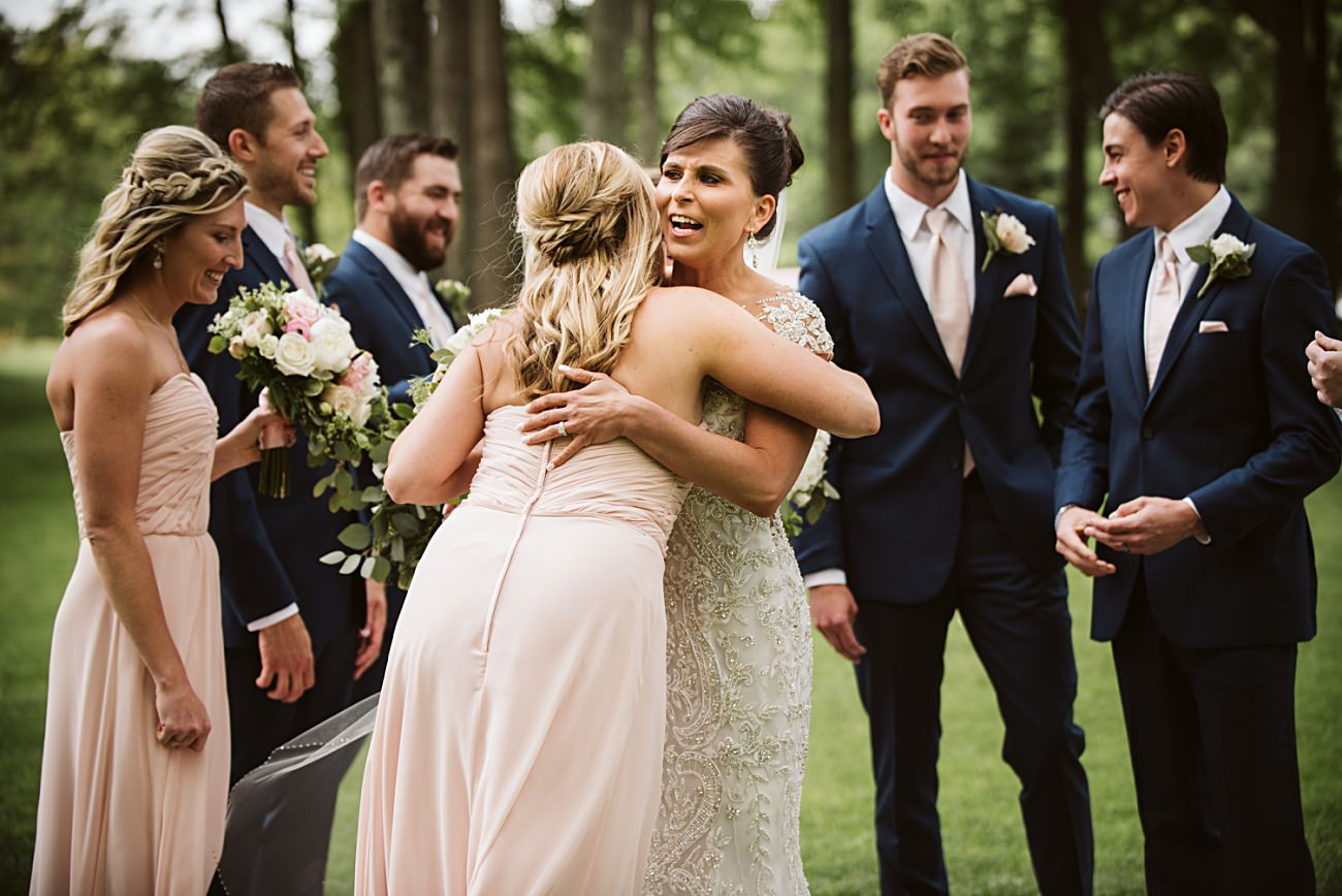 Modern Pink Wedding in Wisconsin - Golf Course Wedding - Madison WI Wedding Photographer, Natural Intuition Photography