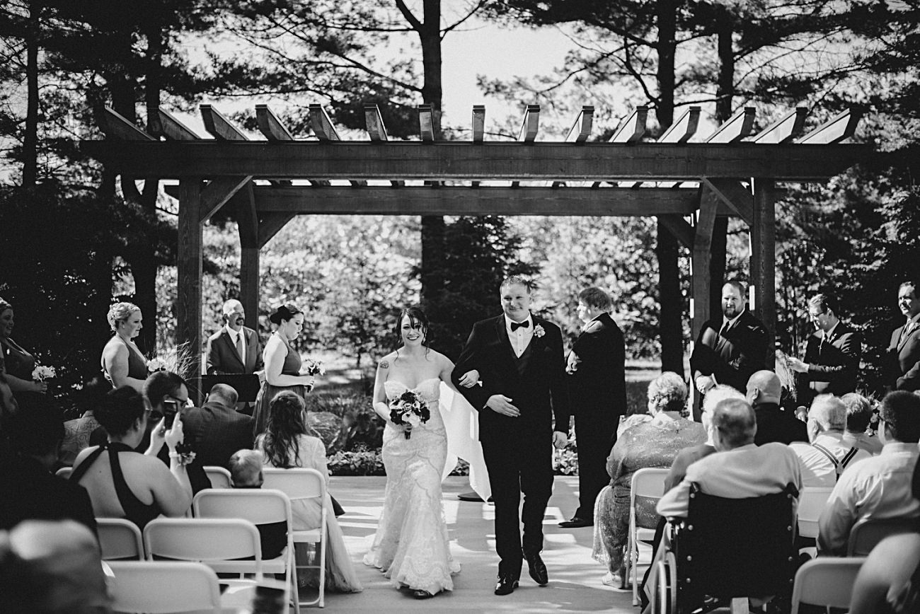 Wedding Ceremony at Sentry World Wedding in Stevens Point Wisconsin, Madison Wisconsin Wedding Photographer, Stevens Point Wedding Photographer