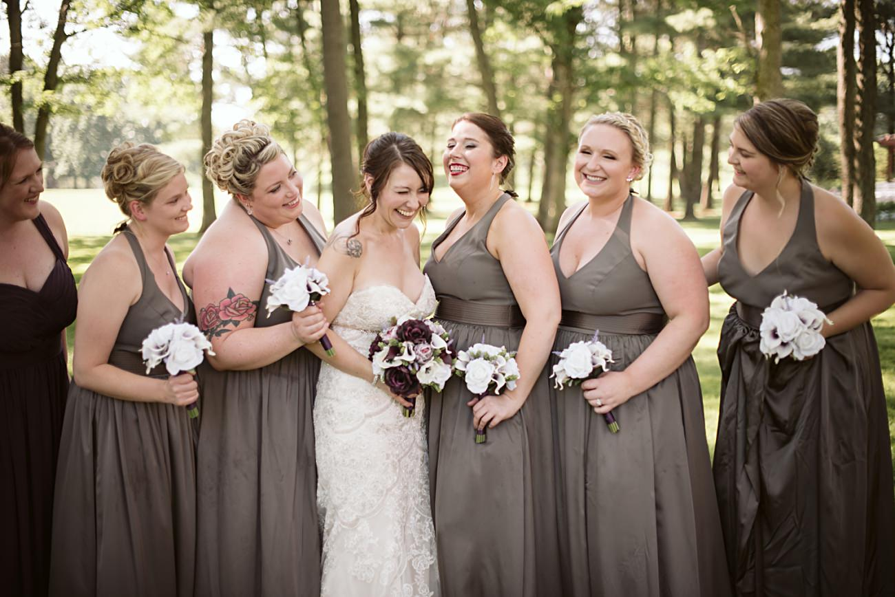 Wedding Party Photos at Sentry World Wedding in Stevens Point Wisconsin, Madison Wisconsin Wedding Photographer, Stevens Point Wedding Photographer