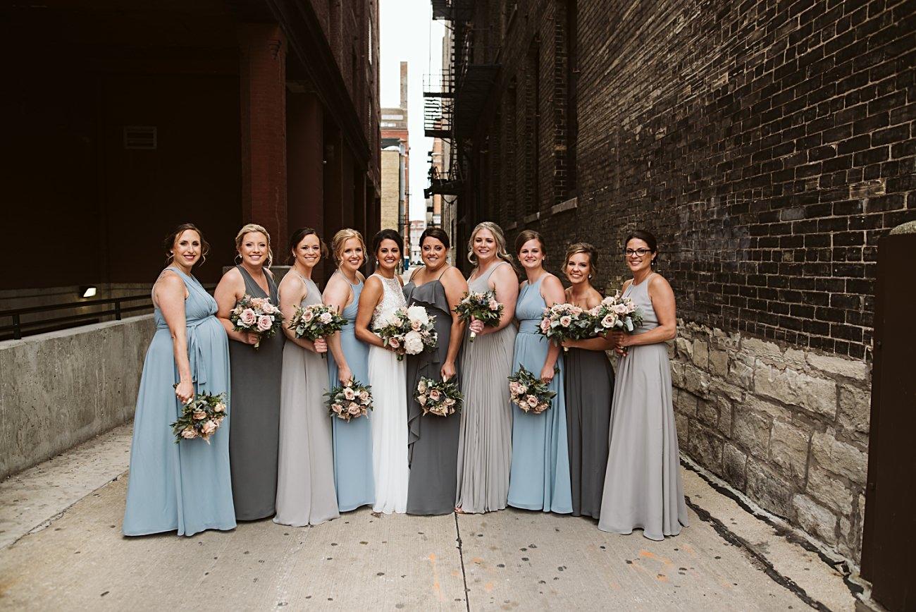 The Atrium Wedding in Milwaukee Wisconsin, Milwaukee Wisconsin Wedding Photographer, Wedding Reception, Third Ward Milwaukee Wedding Photography