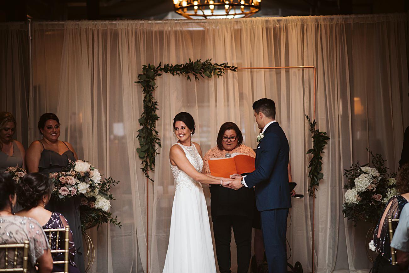 The Atrium Wedding in Milwaukee Wisconsin, Milwaukee Wisconsin Wedding Photographer, Wedding Ceremony