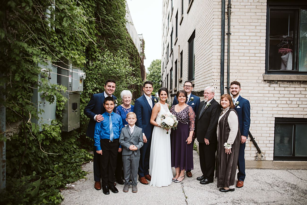The Atrium Wedding in Milwaukee Wisconsin, Milwaukee Wisconsin Wedding Photographer, Family Photos