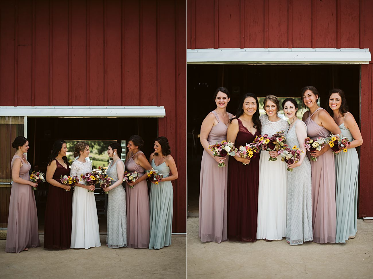 Wisconsin Barn Wedding, Madison Wisconsin Wedding Photographer, Wedding Party Photos