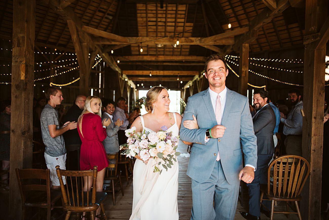 Octagon Barn Wedding near Spring Green Wisconsin, Barn Wedding Inspiration, Ceremony Photos